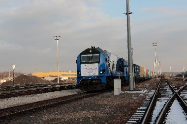 A train from China to Poland: first time without transshipment at the border (according to the PKP LHS LLC)